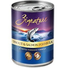 Zignature Zignature Trout & Sal case of 12 cans