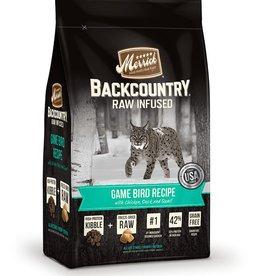 Merrick Merrick Backcountry game bird cat food 10lb