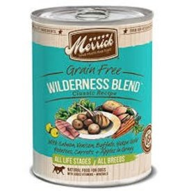 Merrick Merrick Wilderness Blnd canned dog food 13.2oz
