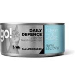 Go! Go! Daily Defence feline turkey 5.5oz