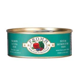 Fromm Fromm Salmon & Tuna feline pate 5.5oz