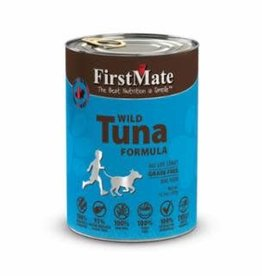 First Mate FirstMate GF LID Tuna Dog Food Can 12.2oz