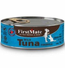 First Mate FirstMate GF LID Tuna Cat Food Can 5.5oz