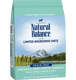 Natural Balance Natural Balance Chicken & Sweet Potato dog food