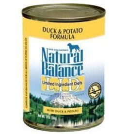 Natural Balance Natural Balance canned duck dog food