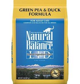 Natural Balance Natural Balance green pea & duck cat food