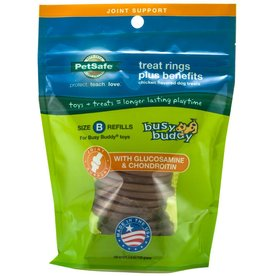 PetSafe Petsafe Busy Buddy Rawhide Refill Ring, Medium