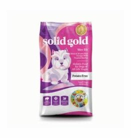 Solid Gold Solid Gold Wee Bit bison & brn rice 12lb