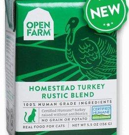 Open Farm Open Farm Rustic turkey wet dog food case of 12