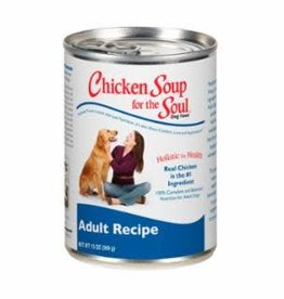 Chicken Soup Chicken Soup Adult dog case of 12 cans