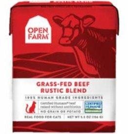 Open Farm Open Farm grass fed beef cat food (case of 12)