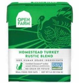 Open Farm Open Farm Rustic Turkey blend cat (case of 12)