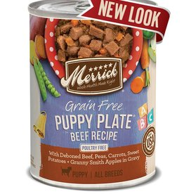 Merrick Merrick GF Puppy Plate Beef Can
