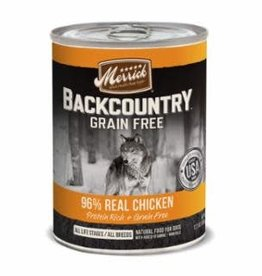 Merrick Merrick Backcountry Chicken Pate Dog Can 12.7oz