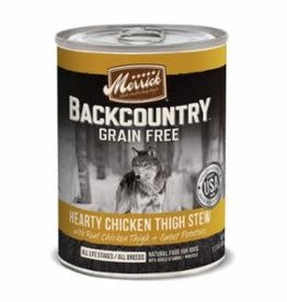 Merrick Merrick Backcountry Chicken Stew Dog Can 12.7oz