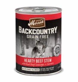 Merrick Merrick Backcountry Beef Stew Dog Can 12.7oz