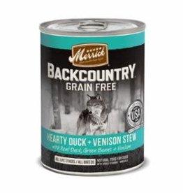Merrick Merrick Backcountry Duck and Venison Stew Dog Can 12.7oz