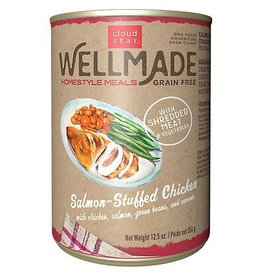 Cloud Star Wellmade Salmon Stuffed Chicken 12.5oz (Case of 12 cans)