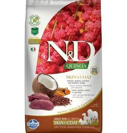 Farmina N/D Venison & Quinoa LID 15.4lb