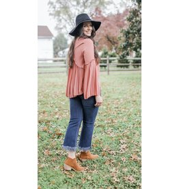 Gilli My Darling Pleated Long Sleeve