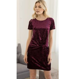 Hem & Thread Pour Me Another Pinot Knot Dress
