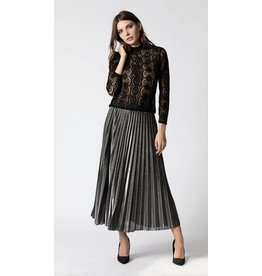 Haute Rouge Tania Metallic Skirt