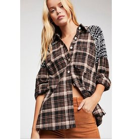 free people By the Fire Flannel - FREE PEOPLE