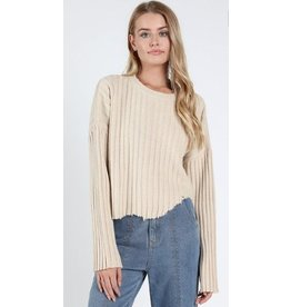 WILD HONEY Just Cut It Sweater