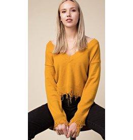 WILD HONEY The Heather Sweater