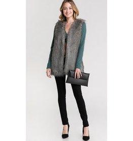 CouldWalk I'm a Faux Fur You Vest