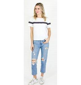 Six Fifty Clothing Sporty Stripe Tee