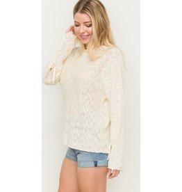 Hem & Thread Sugar & Cream Sweater