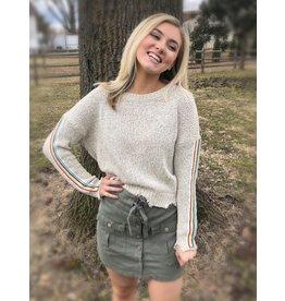 VINTAGE  HAVANA Look a Rainbow Sweater
