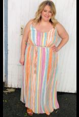 Gilli Rainbow Glory Maxi Dress