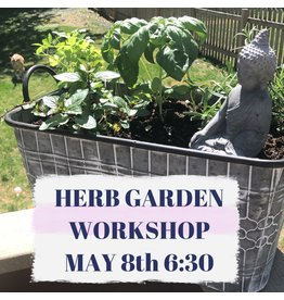 Piccolo AMORE LLC Herb Garden Workshop 6:30om