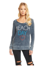 Chaser Beach Day Knit Sweatshirt