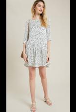 Wish List Leopard Print Mini Dress