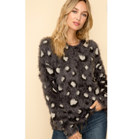 Hem & Thread I'm an Animal Fuzzy Sweater