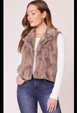 JACK Ain't it Fuzzy Faux Fur Vest