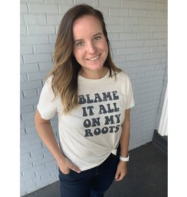 By Together Blame it on my Roots Graphic Tee