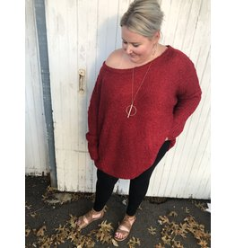 ANDREE Off The Shoulder Sweater