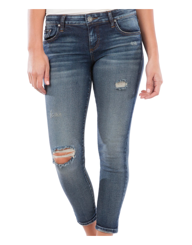 KUT Donna Ankle Skinny Jeans