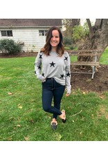 Six Fifty Clothing Star Crewneck Sweater
