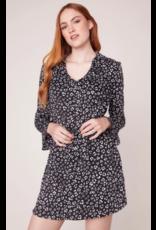 JACK Leopard Print Shirt Dress