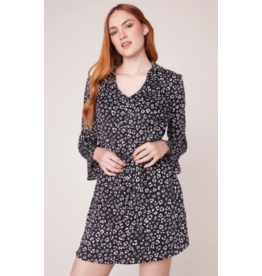 JACK Leopard Print Shirt Dress