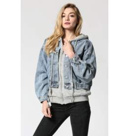 Fate Sweatshirt Jean Jacket
