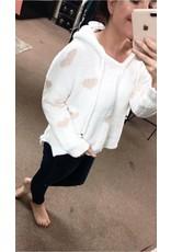 POL clothing POL I love you sweater