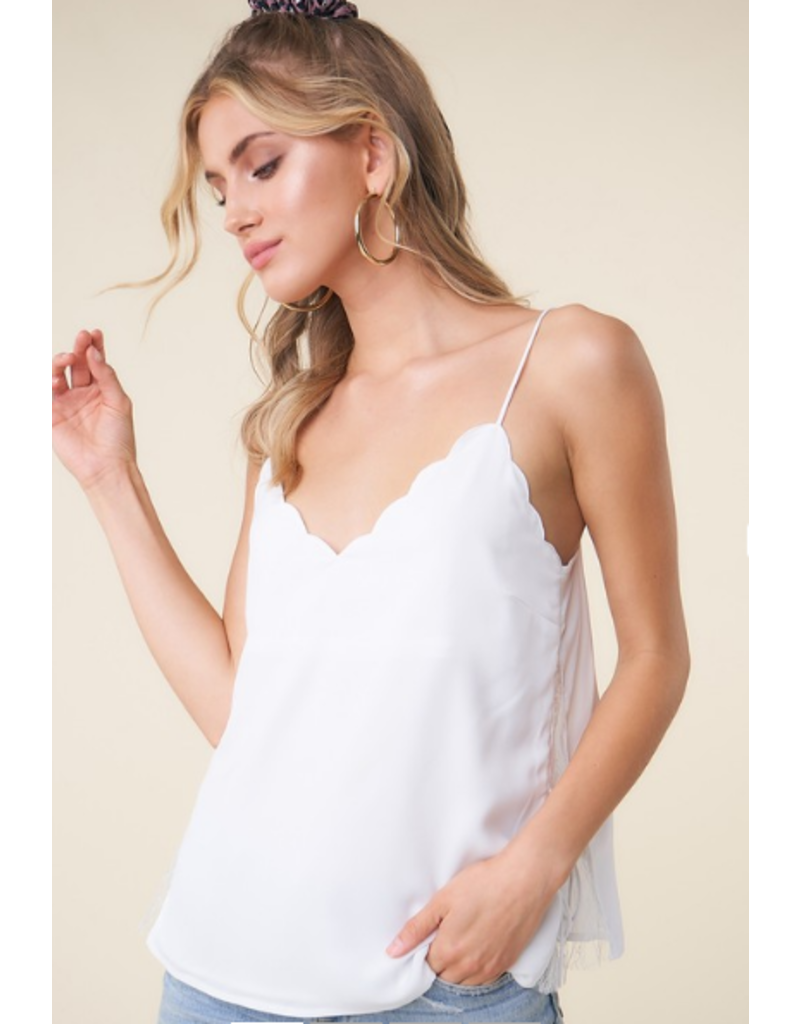 sugarlips Avielle Scalloped Cami