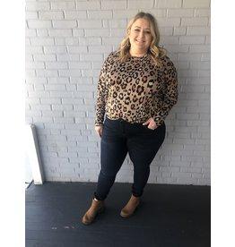 ANDREE Leopard Long Sleeve Tunic