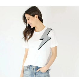 Six Fifty Clothing Lightning Bolt Tee by Six fifty